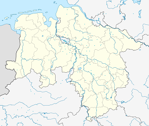 Map of Landkreis Verden with markings for the individual supporters