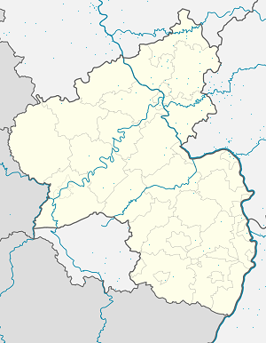 Map of Verbandsgemeinde Diez with markings for the individual supporters