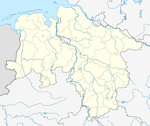 Map of Neu Wulmstorf with markings for the individual supporters