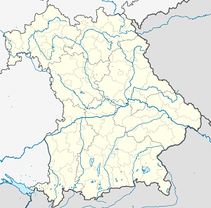Map of Lindau (Bodensee) with markings for the individual supporters