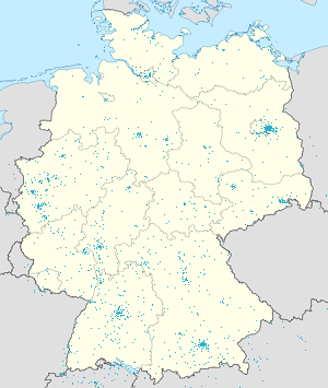 Map of Deutschland & Europa with markings for the individual supporters