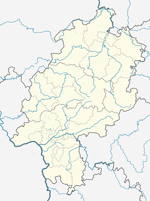 Map of Kronberg im Taunus with markings for the individual supporters