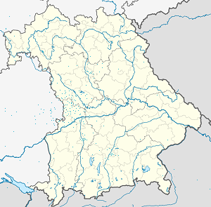 Map of Nördlingen with markings for the individual supporters
