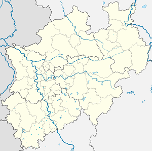 Map of Mechernich with markings for the individual supporters