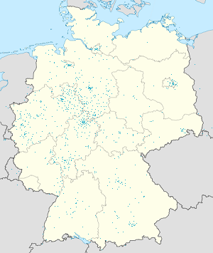 Map of Kassel, Weserbergland, Oberweser, Gieselwerder und Lippoldsberg with markings for the individual supporters