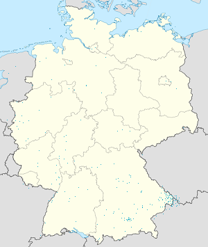 Map of Landkreis Freyung-Grafenau with markings for the individual supporters