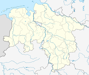Map of Samtgemeinde Schwaförden with markings for the individual supporters