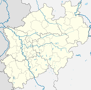 Map of Siegen with markings for the individual supporters
