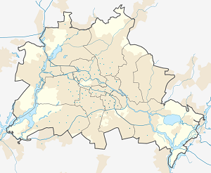 Map of Neukölln with markings for the individual supporters