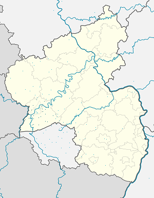 Map of Landkreis Trier-Saarburg with markings for the individual supporters