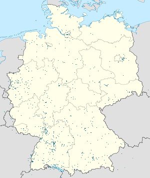 Map of Deutschland with markings for the individual supporters