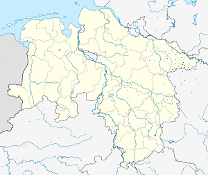 Map of Landkreis Lüchow-Dannenberg with markings for the individual supporters