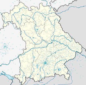 Map of Landshut with markings for the individual supporters