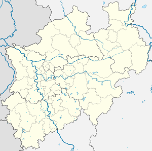 Map of Hürth with markings for the individual supporters