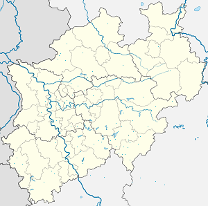 Map of Kirchhundem with markings for the individual supporters