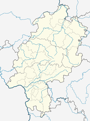 Map of Büdingen with markings for the individual supporters