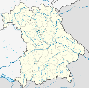 Map of Nuremberg with markings for the individual supporters