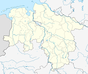 Map of Cloppenburg with markings for the individual supporters