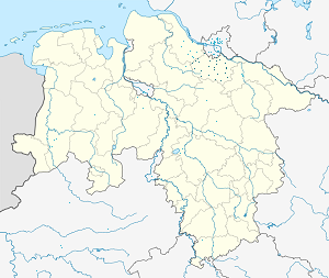 Map of Harburg with markings for the individual supporters