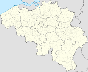 Map of Halle (Vlaams-Brabant) with markings for the individual supporters