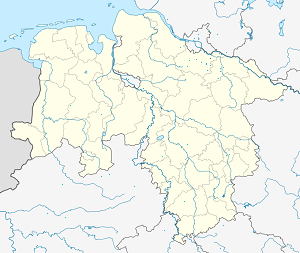 Map of Winsen (Luhe) with markings for the individual supporters