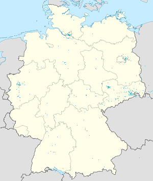 Map of Dresden & Landkreis Meißen with markings for the individual supporters