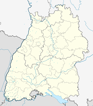 Map of Landkreis Lörrach with markings for the individual supporters