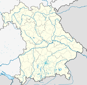 Map of Landkreis Bad Tölz-Wolfratshausen with markings for the individual supporters
