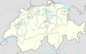 Map of Dietikon with markings for the individual supporters