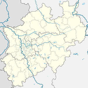 Map of Heiligenhaus with markings for the individual supporters