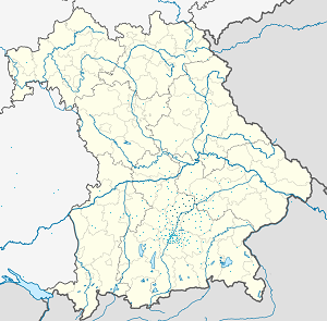 Map of Landkreis Freising with markings for the individual supporters