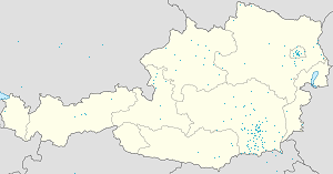 Map of Stainz with markings for the individual supporters
