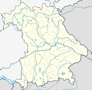 Map of Main-Spessart with markings for the individual supporters