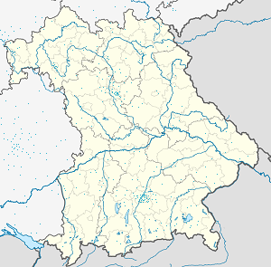 Map of Hohenwarth (Landkreis Cham) with markings for the individual supporters
