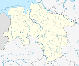 Map of Landkreis Osnabrück with markings for the individual supporters