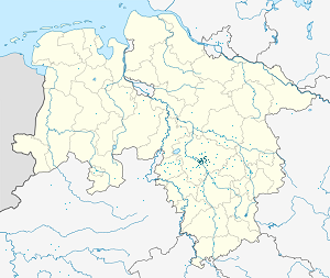 Map of Hannover with markings for the individual supporters