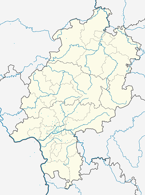 Map of Kalbach with markings for the individual supporters