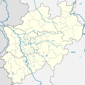 Map of Cologne Government Region with markings for the individual supporters