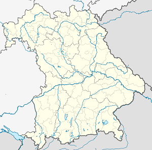 Map of Fürth with markings for the individual supporters