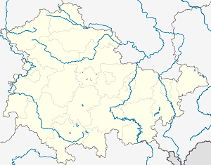 Map of Erfurt with markings for the individual supporters