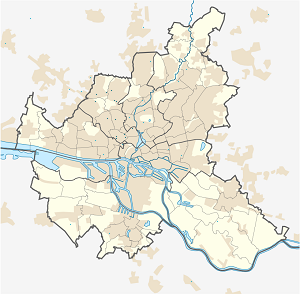 Map of Eimsbüttel with markings for the individual supporters