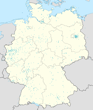 Map of Weltweit with markings for the individual supporters
