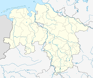 Map of Göttingen with markings for the individual supporters