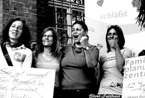 Demo Lesbenberatung