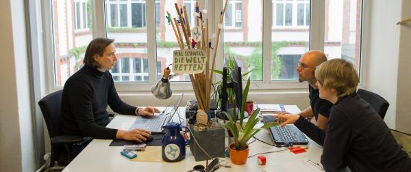Bild: Unser Büro im Haus der Demokratie und Menschenrechte in Berlin.