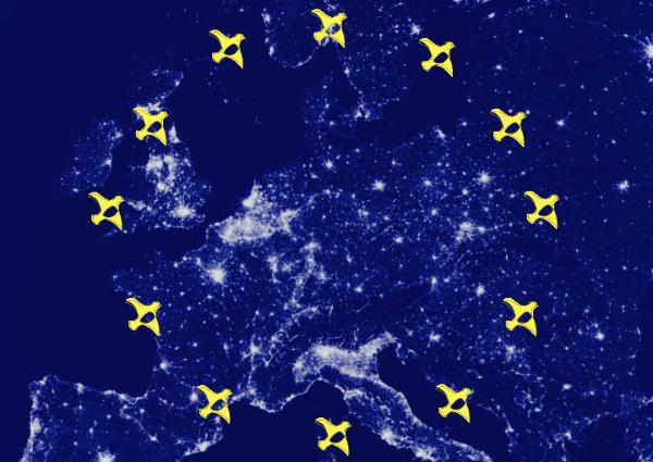 Europa blau 600x425