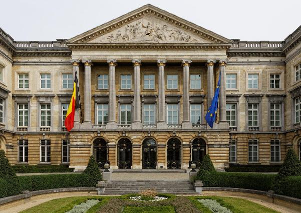 Palais de la Nation, Sitz des Belgischen Parlaments CC wikimedia